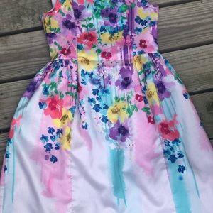 emily west Dresses - 💐🌸💐🌸💐🌸🎀 Emily west floral dye dress 👗